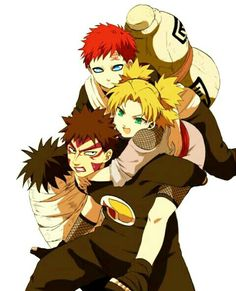 Find images and videos about anime, naruto and gaara on We Heart It - the app to get lost in what you love. Kakashi Hatake, Gaara Naruto, Naruto Cute, Boruto, Shikatema, Inojin, Akatsuki, Blade Runner, Konoha Village
