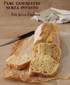 10 Minuti per realizzare un impasto meraviglioso che ci donerà un pane alveolato, fragrante e buonissimo. Pane, Fantasy