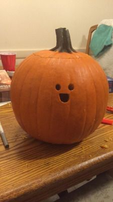 I Have Seen The Whole Of The Internet: Happy Tiny-Faced Pumpkin