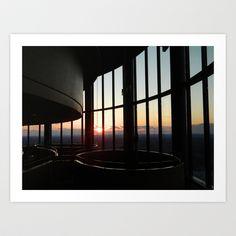 Sunset Art Print by Nautilus - $17.68