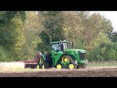 Latest Agriculture Technology John Deere's four track tractor Agricultural Tools, Agriculture, Tractors, Track, Technology, World, Youtube, Tech, Runway