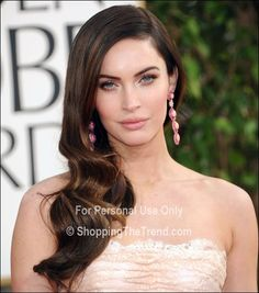 Megan Fox hair & makeup - Golden Globe Awards 2013
