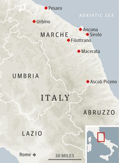 Nice guide to the Marches region of Italy IM GOING :)   www.bellavallone.com