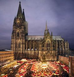 Christmas Market in Cologne / weihnachtsmarkt Koln  --  Possibly my favorite in Germany.