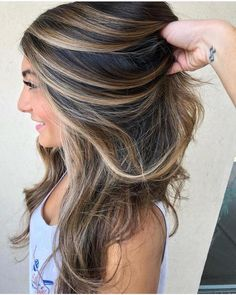 Balayage Hair Colors For Latest And Unique Hairstyles 2018 - King Nail Club - Brown Hair Balayage, Brown Ombre Hair, Brown Blonde Hair, Light Brown Hair, Ombre Hair Color, Hair Color Balayage, Cool Hair Color, Brown Hair Colors, Dark Brown Hair With Highlights And Lowlights