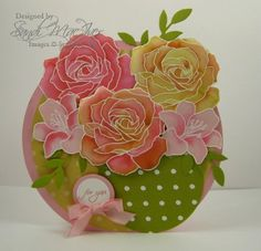 Oops, I did it again - more of those darned roses. by SandiMac - Cards and Paper Crafts at Splitcoaststampers