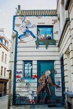 ♡♡♡♡ #Streetart #Tibet #Cartoons ☆☆☆☆ #Brusselslife www.brusselslife.be #VisitBrussels #HapAppBrussels #ErfgoedBrussel #Belgientourismus #BelgiumIsBeautiful #ILikeBelgium #ProudBelgians #TrotseBelgen #IkBenBelg #IkBenBrussel ♡♡♡♡