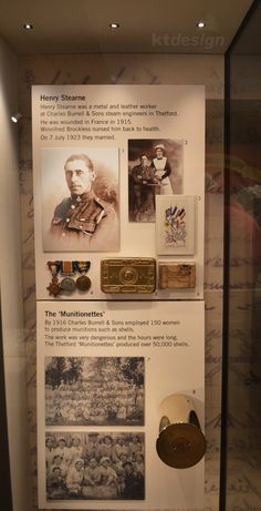 #WW1 exhibition at Ancient House Museum, Thetford. Design of graphics and labels.