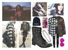 """Grunge N Roses"" by killjoy02 ❤ liked on Polyvore featuring River Island and Casetify"