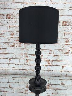 Tischlampe von Home Art Nachttischlampe Schwarz Tischleuchte Leuchte Lampe: Amazon.de: Küche & Haushalt