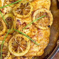 Melting Potatoes - The Midnight Baker - Yummy Roast Potatoes Best Chicken Recipes, Turkey Recipes, Great Recipes, Favorite Recipes, Duck Recipes, Delicious Recipes, Gourmet Chicken, Chicken Meals, Lemon Butter Chicken