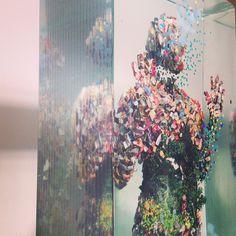 Dustin Yellin's 3D Art