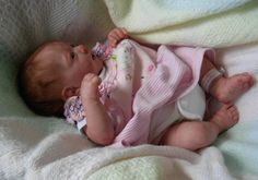 Custom Made Reborn Doll. Can't believe how real this doll looks!