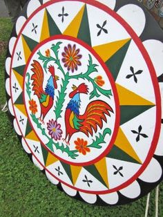 PA Dutch Hex Sign - I want to make a hex sign quilt to celebrate my PA heritage