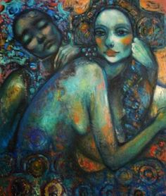 ARTE Maria Cristina Faleroni David Gray, Figurative Art, Artsy, Contemporary, Illustration, Painting, Image, Cinema, Dance