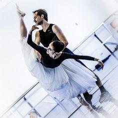 Vittoria Valerio & Federico Fresi rehearsing Giselle's Peasant Pas de Deux - Nureyev Rehearsal Room