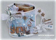 Jenine's Card Ideas: Dutch Doobadoo - Christmas Mug