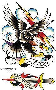 my dream - tattoo by ed hardy