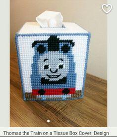 Thomas the train tissue box