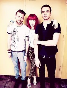 #11- Do band photo's for Paramore, and Watksy! <3