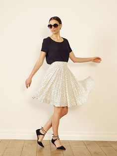 Nantes skirt Havana top