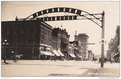 RP: Main Street , BOONE , Iowa , PU-1927