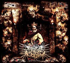 Abated Mass of Flesh - The Omen King (Album Cover)