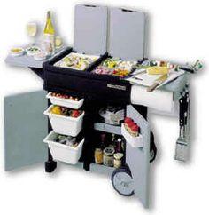Grilling Station Grill Smoke Kitchen Cart Stuff Recipes