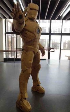 How To Make An Iron Man Suit With Cardboard.......http://diyfunideas.com ==========BEST DIY SITE EVER!