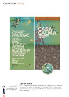 Hotel Casa Calma by Bunker 3022 , via Behance