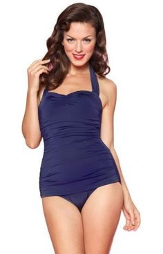 Esther Williams Women's 50's Pin Up Swimsuit [ Reduced From $90.00 To $65.99 - $76.99 Where applicable you'll select size, color, etc. after you click the buy button]