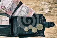 Photo about Ukrainian money in your wallet little my coins. Image of closeup, rich, pile - 60942193 Little My, Black Backgrounds, Close Up, Messenger Bag, Coins, Satchel, Objects, Stock Photos, Money