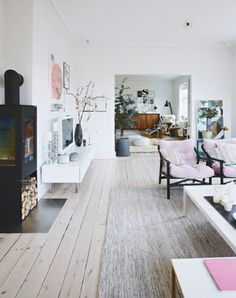 Home with a lot of details - via Coco Lapine Design