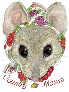 Mrs. Country Mouse by Jan Brett