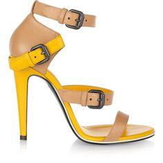 Bottega Veneta Two-tone leather sandals