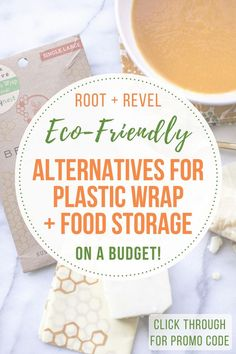 Toss toxic food storage products for an eco-friendly alternative to plastic wrap. Bee's Wrap a natural, non-plastic reusable substitute from MightyFix!