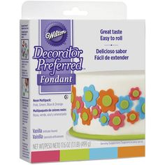 Wilton Decorator Preferred Fondant - 1.5 lbs