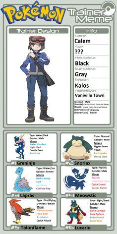Belongs to Pokémon © Game Freak, Nintendo & TV Tokyo Real Pokemon, Ash Pokemon, Black Pokemon, Pokemon Cards, Pokemon Images, Pokemon Pictures, Calem Pokemon, Pokemon Adventures Manga, Pokemon Sketch