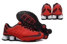 Nike Shox Turbo 21 KPU Men Shoes Sneakers University Red Black