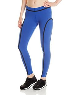 Zumba Fitness Womens Perfect Piped Leggings Surfs Up Blue Medium >>> Read more reviews of the product by visiting the affiliate link Amazon.com on the image.