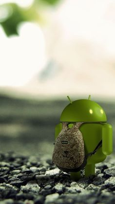 Android Rocks Backpack Wallpaper for Mobile 720x1280
