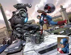 Captain America - ULTIMATE COMICS AVENGERS (2009) #3