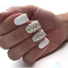 Gorgeous And Lovely Spring Square Nail Designs For You; Square Acrylic Nails, White Acrylic Nails, White Nail Art, Acrylic Nail Art, Square Nails, Acrylic Nail Designs, White Nails, Square Nail Designs, Best Nail Art Designs