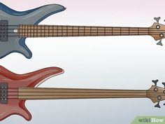 3 Ways to Play Bass - wikiHow Bass Guitar Notes, Uke Songs, Guitar Strings, Best Teacher, Musical Instruments, Play, Guitars, Guitar Quotes, Base