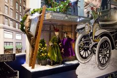 Holiday windows at department stores in NYC 2013: Lord & Taylor