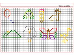 Dibujos en cuadriculas c02 (1) Blackwork, Symmetry Worksheets, Graph Paper Art, Geometric Drawing, Aztec Art, Back Stitch, Fun At Work, Love Painting, Pictures To Draw