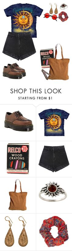 """22 : 15"" by fourruredesbois ❤ liked on Polyvore featuring Dr. Martens, Tory Burch, Amber Sun, Urbiana, Topshop and Retrò"