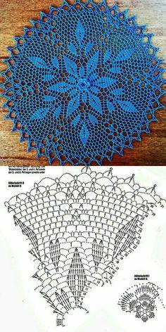 Free Crochet Doily Patterns, Crochet Doily Diagram, Crochet Flower Tutorial, Crochet Lace Edging, Crochet Art, Thread Crochet, Crochet Dreamcatcher, Crochet Dollies, Crochet Bookmarks