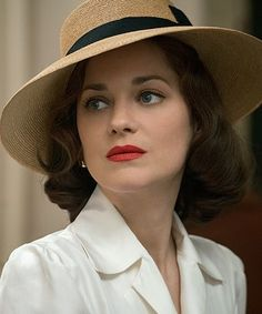 Marion Cotillard In 'Allied' - fashion In Film.