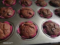 Csupa csoki muffin   gluténmentes muffin receptek   Íz-Lik rovat Muffin, Gluten Free, Breakfast, Food, Glutenfree, Morning Coffee, Essen, Muffins, Sin Gluten